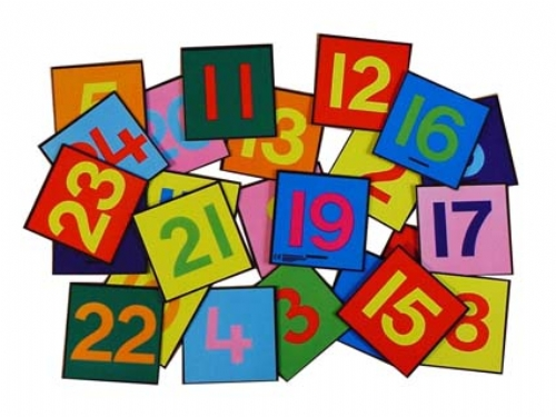 1 24 Number Tiles Sport And Playbasesport And Playbase