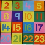 1-24 Numbers Mat 1