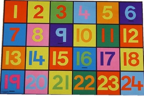 1 24 Numbers Mat Sport And Playbasesport And Playbase
