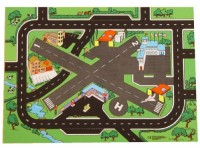 Airport and Roadway Playmat