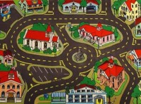 American Town Playmat