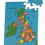 British Isles Map Puzzle 1
