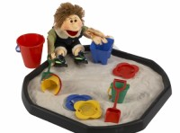 Bumper Plastic Sand Toy Set