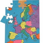 Europe Map Puzzle 1