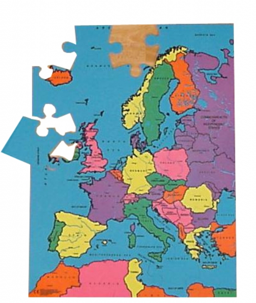 map puzzle europe