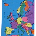 Europe map cloth 1