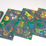 Set of 3 Roadway Playmats 1