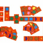 Junior Shapes Dominoes 1
