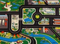 Large Roadway Playmat