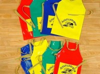 Medium Aprons with pockets  set of 4.