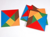 Pack of 5 Tangram