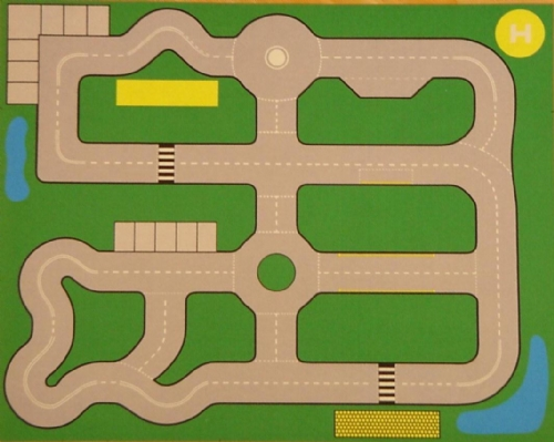 Road Plan Playmat Sport And Playbasesport And Playbase
