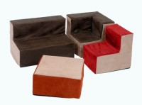 Suede Toddler Table/Buffet