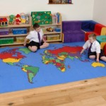 World Map Rug 1