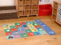 WELSH ALPHABET TILES