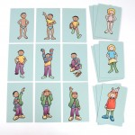 GETTING DRESSED SEQUENCING TILES 1