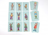 GETTING DRESSED SEQUENCING TILES