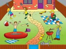 BACK GARDEN JIGSAW PLAYMAT