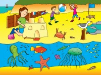 SEASIDE JIGSAW PLAYMAT