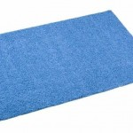 Blue Tufty Rug 3