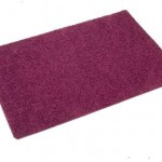 Plum Tufty Rug 1