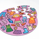 Girls Clothes Jumbo Puzzle 2