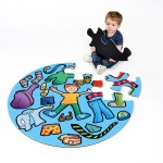 Boys Clothes Jumbo Puzzle 1