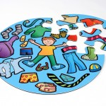 Boys Clothes Jumbo Puzzle 3