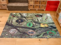 Mini Beasts Outdoor Mat