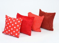Elemantal Cushions Fire Tones set of 4