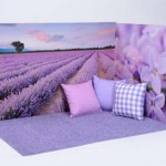 Lavender Wall Backdrop 2
