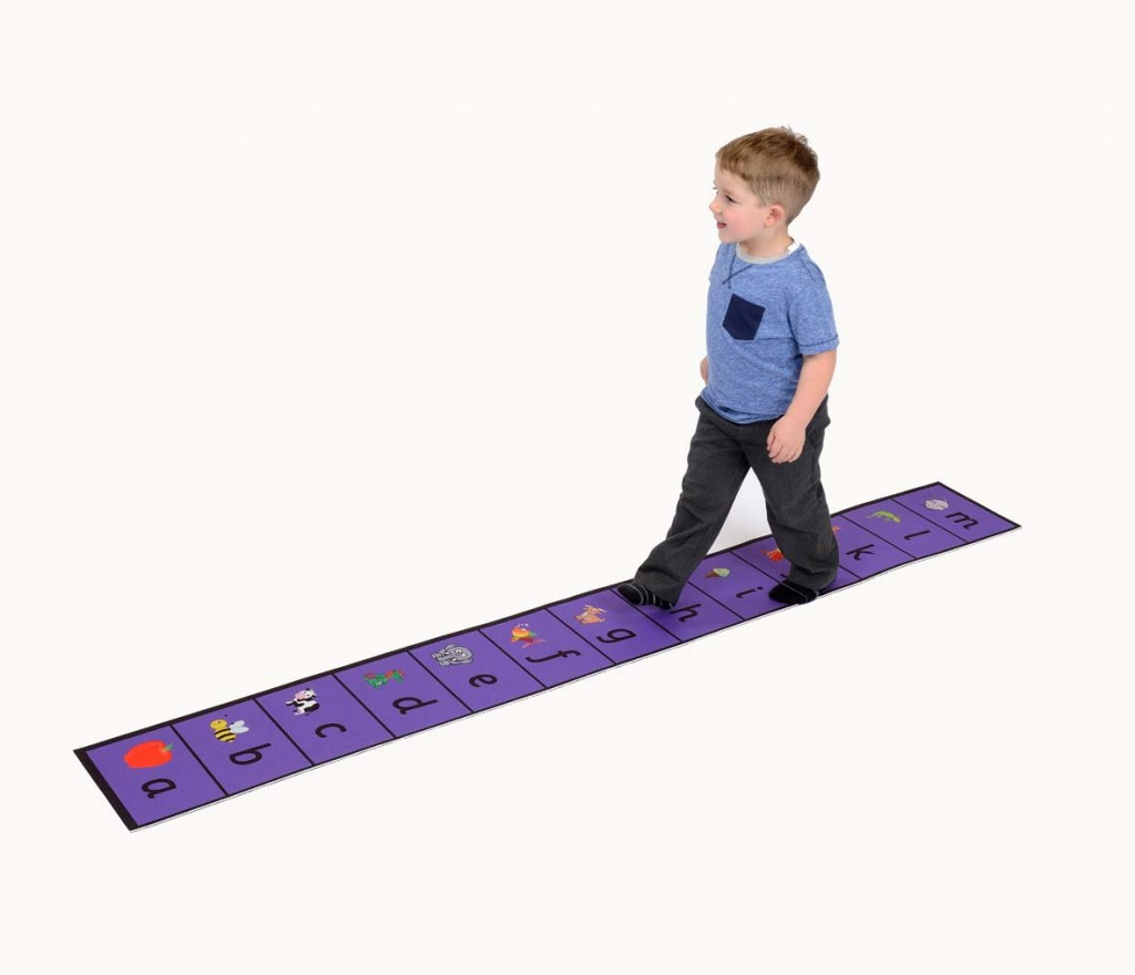 Alphabet Walk Along Line Sport And Playbasesport And