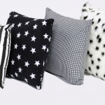 Black And White Cushions Set Of 4 1