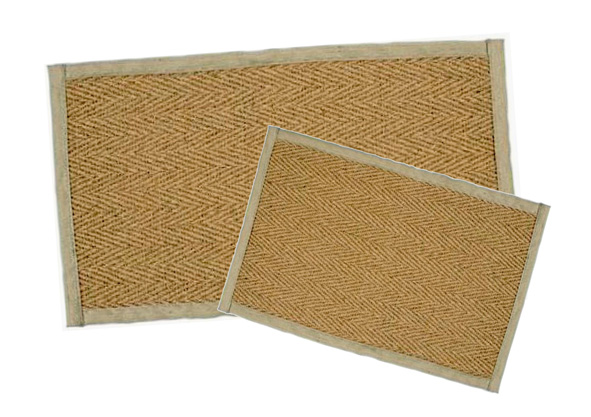 Coconut Rubber Backed Rug Coco02 Sport And
