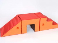 Toddler 3 Piece Steps, Tunnel and Slope