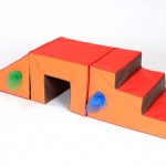 Toddler 3 Piece Steps, Tunnel and Slope 2