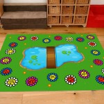 Classroom Playmat NUMBERS IN THE PARK 2