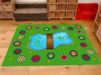 Classroom Playmat NUMBERS IN THE PARK