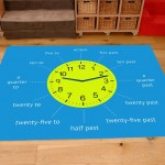 Classroom Playmat TELL THE TIME 1