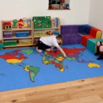 World Map Rug 3
