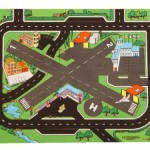 Airport and Roadway Playmat 1