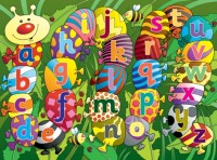 Alphabet Caterpillar Playmat
