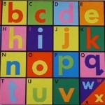 Alphabet Mat 2
