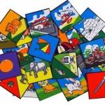 Alphabet Picture Squares 1