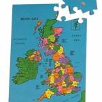 British Isles Map Puzzle 1