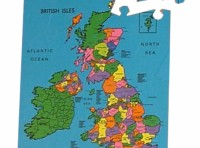British Isles Map Puzzle