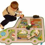 Car Roadway Playmat 1