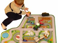 Car Roadway Playmat
