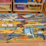 Dinosaur Landscape Playmat 1