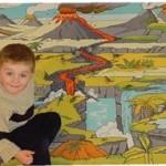 Dinosaur Landscape Playmat 2